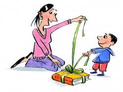 bearbeitet_Mutter und Kind mit Geschenk